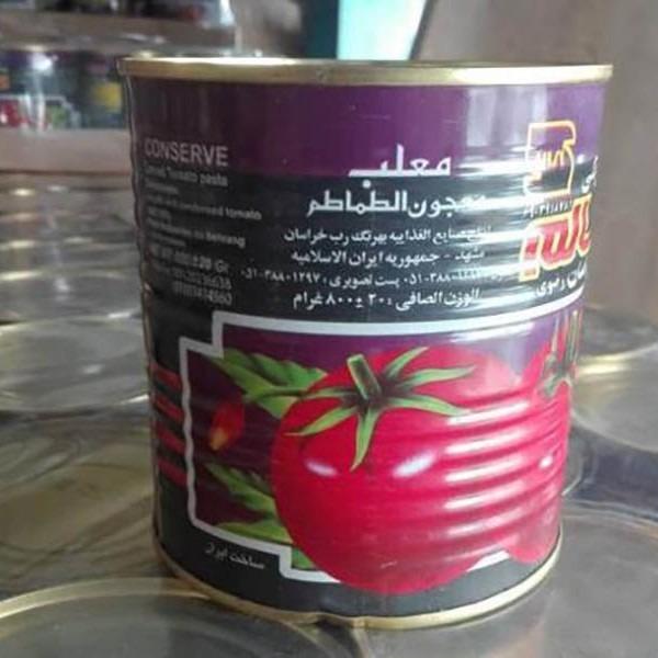 رب گوجه ۸۰۰ گرم برند سالم