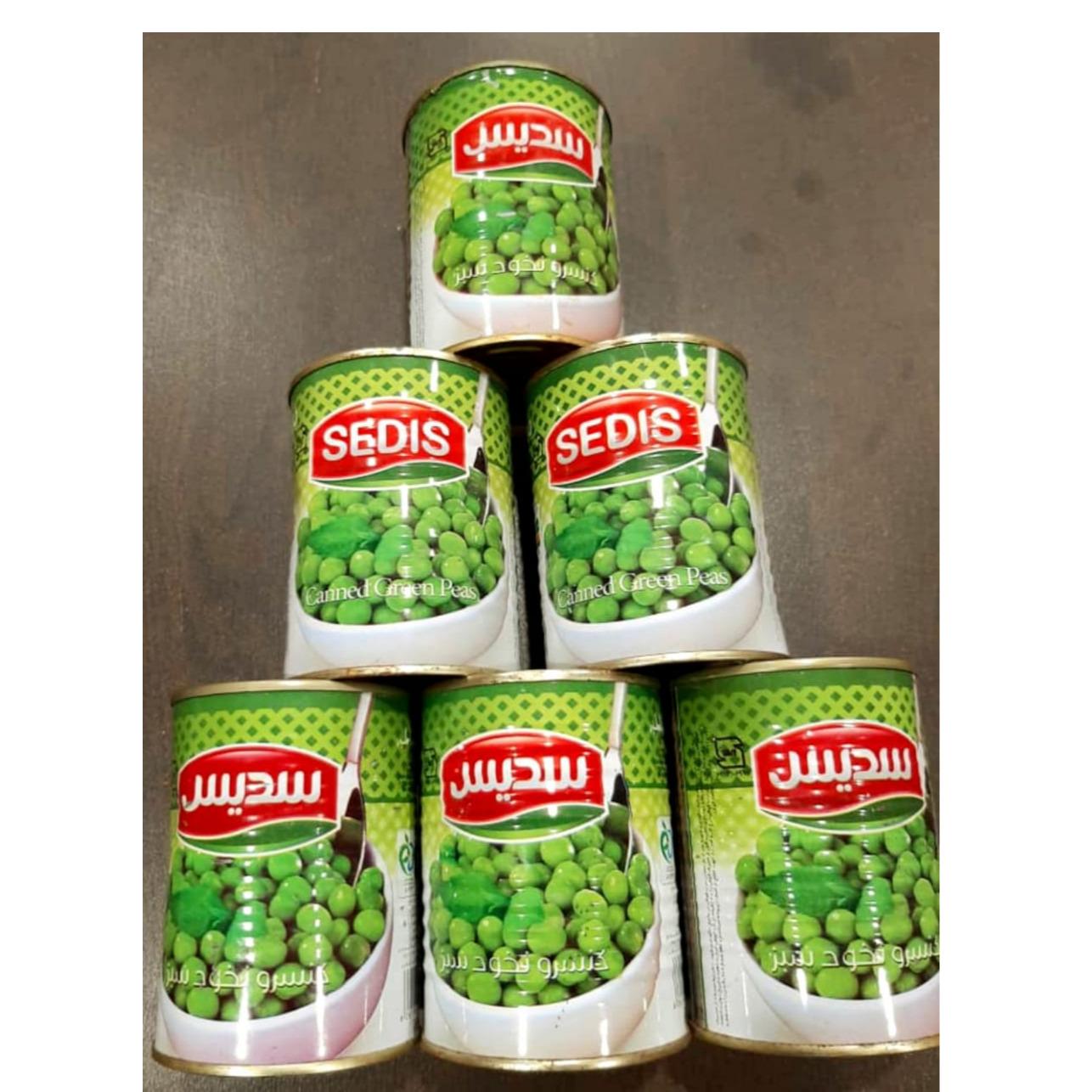 کنسرونخود سبز
